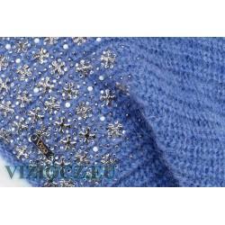 Itálie 6714 B Baret modrý Vizio & Alpaca & Moher