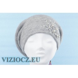 6734 B Vizio Itálie Beret Grey Collection 2021 ESHOP VIZIOCZ.EU