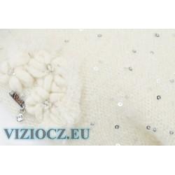 Baret bílý Kolekce VIZIO Itálie 2021 art. 6738 ITÁLIE DÁMSKÉ Klobouky ESHOP VIZIOCZ.EU