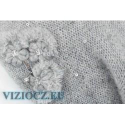 Берет серый VIZIO Италия 2021 Коллекция 6738 B