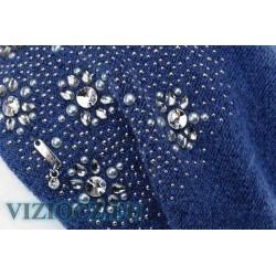 VIZIO Италия Береты со Сваровски art. 6740 B ИНТЕРНЕТ МАГАЗИН VIZIOCZ.EU