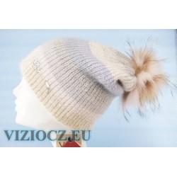 Módní trendy Klobouky Vizio 6521 Pompons & Swarovski BRAND VIZIO ITÁLIE DÁMSKÉ Klobouky ESHOP VIZIOCZ.EU