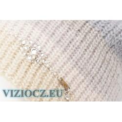 Fashion Trends Vizio Hats 6521 Pompons & Swarovski