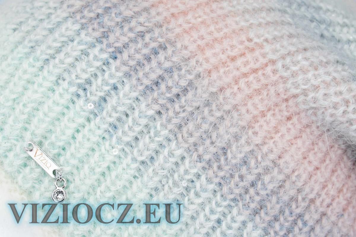 1. ГОЛОВНОЙ УБОР VIZIO ИТАЛИЯ 5197 B с кристаллами СВАРОВКИ