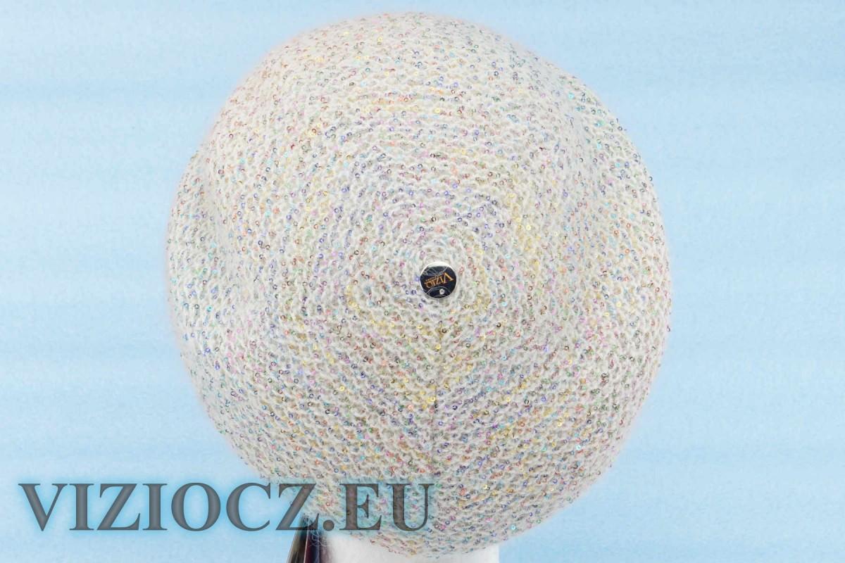 1. Шапка ВИЦИО 5175 C Fiori Bouquet серая