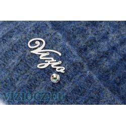 Комплект ВИЗИО art. 5175 Шапка Шарф синие