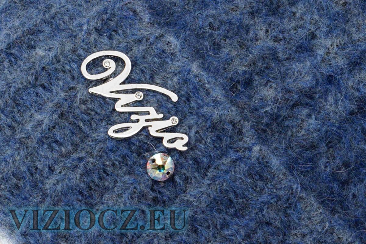 1. Комплект ВИЗИО art. 5175 Шапка Шарф синие