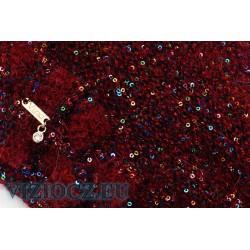 6814 B Italian berets Vizio Alpaca & Mohair & Sequins 2021 Collection
