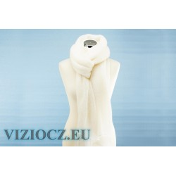 VIZIO Collezione ШАПКА Merletto белая с пайетками