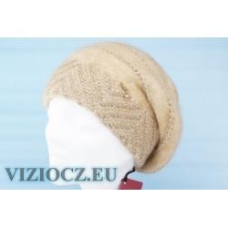 VIZIO Collezione БЕРЕТ молочный c золотом & ОРИГИНАЛЬНЫЙ ДЕКОР