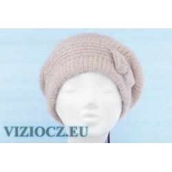 6464 B Vizio Italy Beret & Light Pink