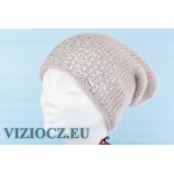 Берет VIZIO S 4780 B Zig-zag Viola серо-розово-белый