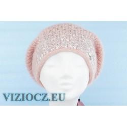 Italy 6714 B Vizio Ladies Berets & Strass decor