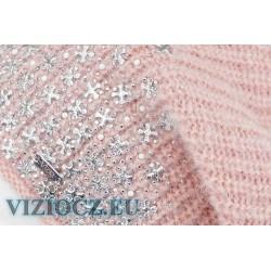 Itálie 6714 B Vizio Dámské barety & Štrasový dekor